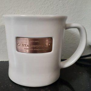 Starbucks 2010 Copper Logo Band Coffee Mug